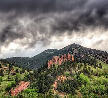 Boulder's Red Rocks by Jarrett720