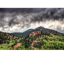Boulder's Red Rocks Photographic Print