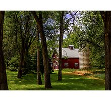 Farm House Photographic Print