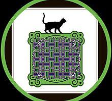 black cat by DMEIERS