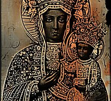 Our Lady of Czestochowa by MJ Perry
