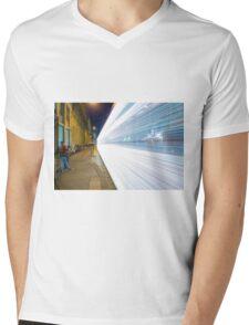 Tram Mens V-Neck T-Shirt
