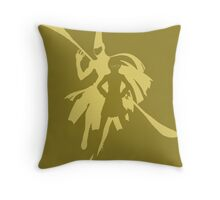 Persona 4: Chie (Poster) Throw Pillow