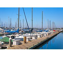 Marina Del Ray Photographic Print