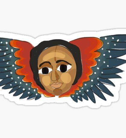 Ethiopian Angel I Sticker