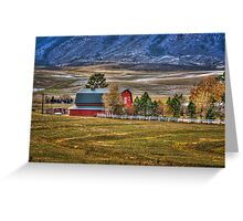 Barn Days Greeting Card