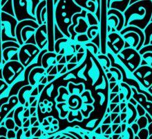 Hamsa Mehndi Talisman Sticker