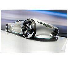 Mercedez Benz Amg Vision Gran Turismo Concept Poster