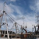 Harbour Masts by kalaryder