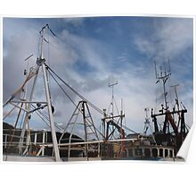 Harbour Masts Poster