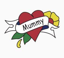 Mummy tattoo kids t-shirt One Piece - Short Sleeve