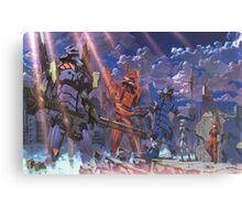 Neon Genesis Evangelion - Eva Series Canvas Print