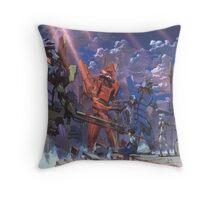 Neon Genesis Evangelion - Eva Series Throw Pillow