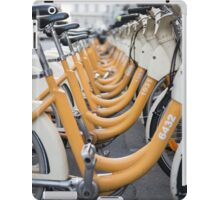 Bicycles iPad Case/Skin