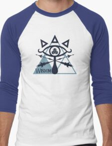 Triforce of Wisdom Men's Baseball ¾ T-Shirt
