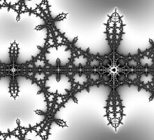 False Mandelbrot Byways No. 14 by Mark Eggleston