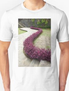 Garden with s curve Unisex T-Shirt