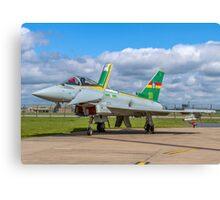 Eurofighter Typhoon F.2 ZJ936/QO-C Canvas Print