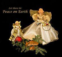 Angels keeping watch by Kathy Weaver