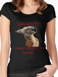 Kangaroo Tee Women's Fitted Scoop T-Shirt