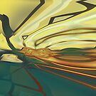GRAFFITI ABSTRACT7 (TWO) by DARREL NEAVES