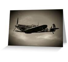 Mark 5b Spitfire W3644 Greeting Card