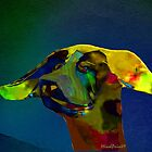Multicolored Dog by mindprintz
