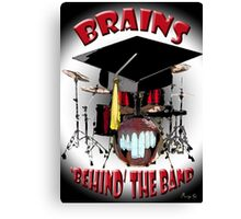 BRAINS behind the BAND Canvas Print