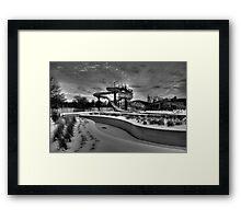 Winter Water Park Framed Print