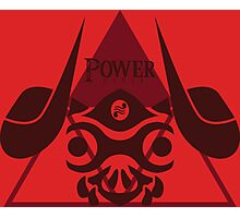 Triforce of Power Photographic Print