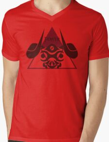 Triforce of Power Mens V-Neck T-Shirt