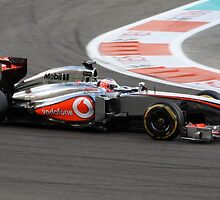 Jenson Button by kiddchino