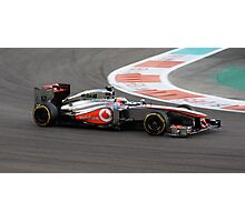 Jenson Button Photographic Print