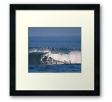 The Art Of Surfing In Hawaii 27 Framed Print