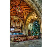 Cathedral Christmas Photographic Print
