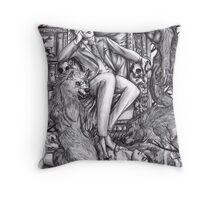 Hannibal - Alpha male Throw Pillow