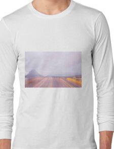 Lugano in dusk Long Sleeve T-Shirt