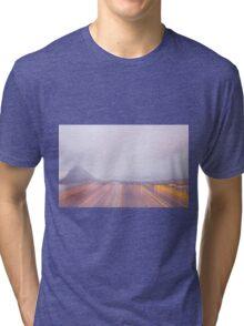 Lugano in dusk Tri-blend T-Shirt