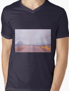Lugano in dusk Mens V-Neck T-Shirt