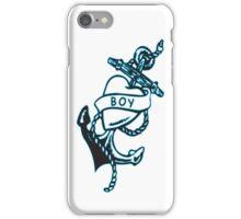 Boy tattoo T-shirt iPhone Case/Skin