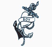Boy tattoo T-shirt Kids Tee
