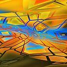graffiti abstract 10 by DARREL NEAVES
