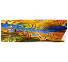 graffiti abstract 10 Poster