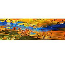 graffiti abstract 10 Photographic Print