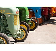 Tractor convention Photographic Print