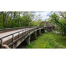Big Piney River Bridge on Route 66, Devil's Elbow, MO Photographic Print