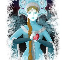 Snow Maiden by LadyMito