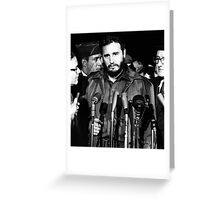 Fidel Castro - MATS Terminal, Washington 1959 Greeting Card