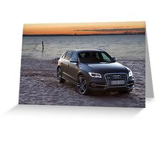 Audi SQ5 Greeting Card