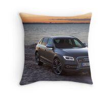 Audi SQ5 Throw Pillow